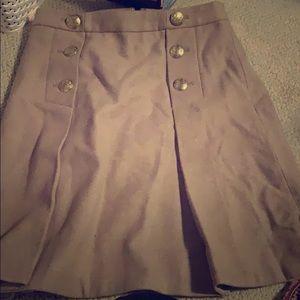 Sailor JCrew skirt.